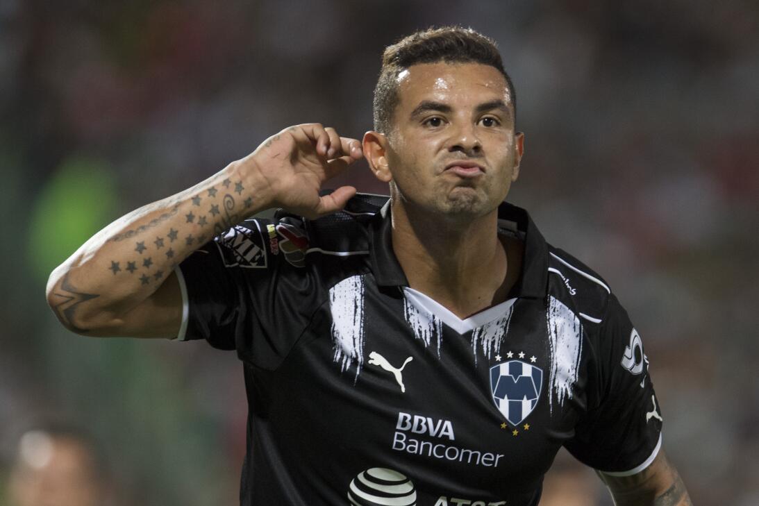 Emocionante empate entre Santos y Monterrey Gol Edwin Cardona celebra su...