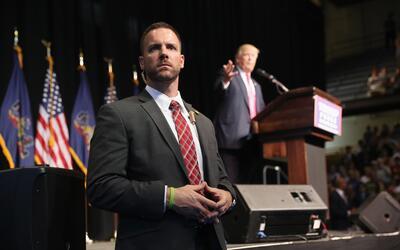 Para el Servicio Secreto llevarle el ritmo al presidente Trump tien sus...