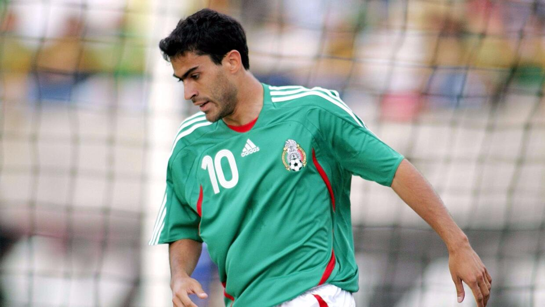 Nery Castillo el día de su debut en el Tri ante Irán en junio del 2007.