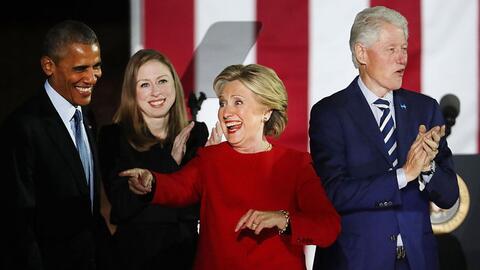 Así fue el último evento de campaña de Hillary Clinton en Filadelfia