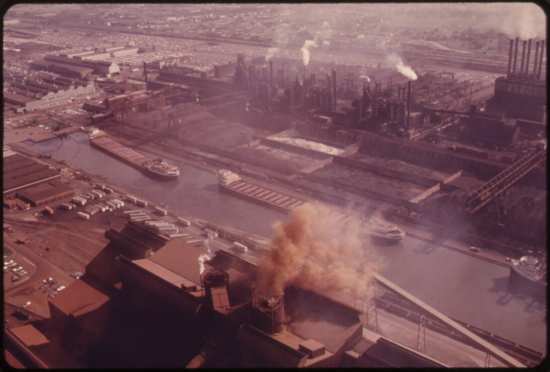 Contaminación en Detroit