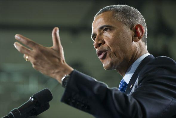 Obama volvió a insistir en la importancia de invertir en educación y des...