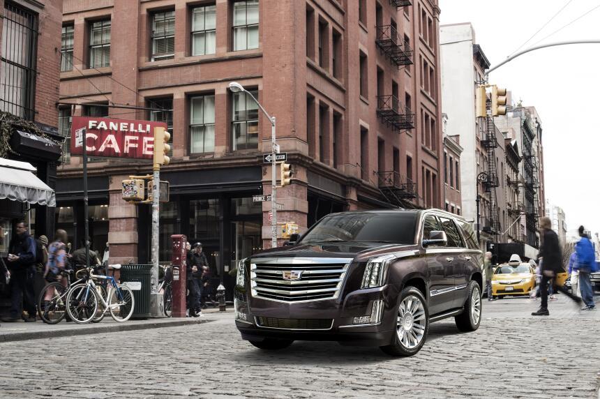 Los 10 autos con menor confiabilidad en Estados Unidos 2017-Cadillac-Esc...