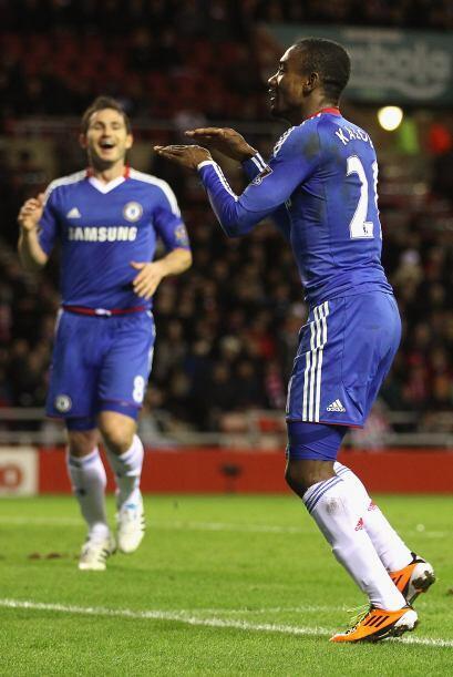 Frank Lampard y Salomon Kalou marcaron para remontar.