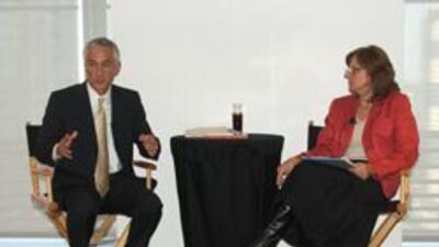 Jorge Ramos participo en conversatorio con el diario New York Times. 5a5...