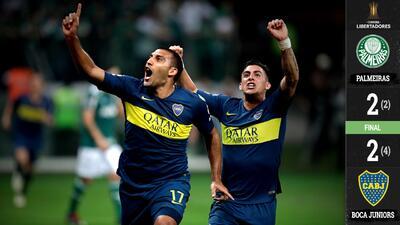 ¡El Superclásico es continental! Boca sella pase a la Final de la Libertadores ante River
