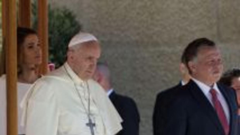 El papa Francisco peregrina en el Medio Oriente.