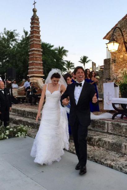 Greidys y Luis, marido y mujer.