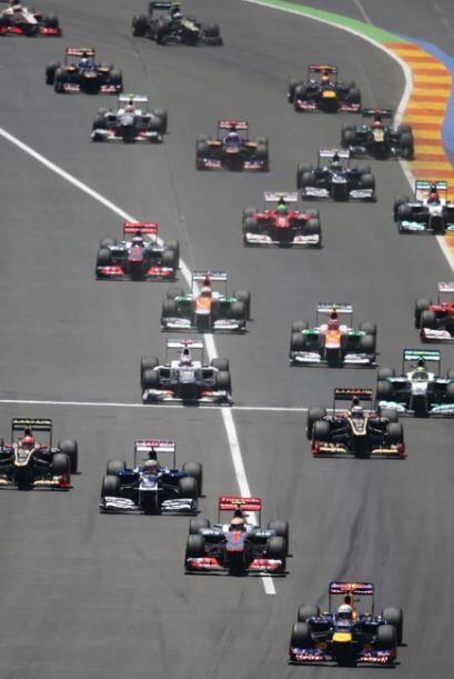 El GP de Europa fue una competencia llena de emoción.