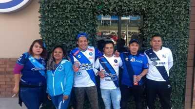 En fotos: Los fanáticos ponen la emoción en el duelo entre Puebla y Veracruz