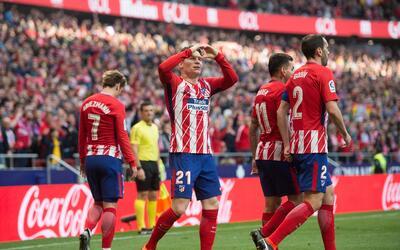 El cuadro rojiblanco ligó su cuarto triunfo en La Liga.