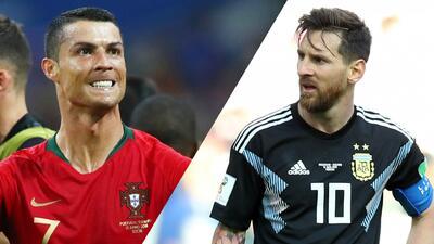 Comparativa y análisis de los números de Cristiano Ronaldo y Messi en su primer juego del Mundial