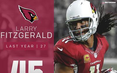 #45: Larry Fitzgerald (WR, Cardinals) | Top 100 Jugadores 2017