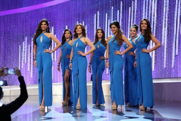Solamente 18 chicas quedaron en la competencia.