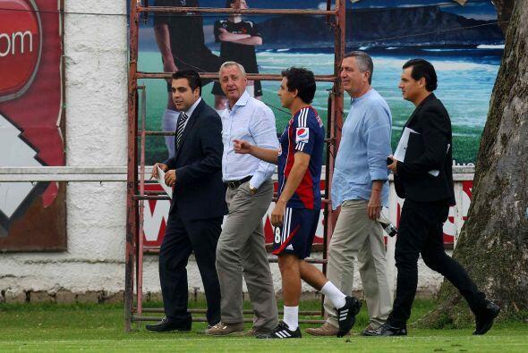 En eso sí tiene toda la razón el técnico de Chivas,...