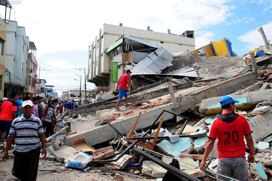 Las imágenes que nos deja el potente terremoto en Ecuador  ecuador18.jpg