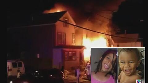 Dos niños muertos y dos heridos por incendio