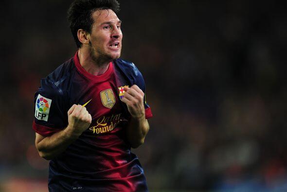 Pero lo festejó con mucha rabia, Messi es un apasionado.