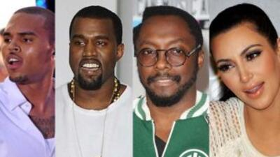 Kim Kardashian, Will.I.Am., Chris Brown y Kanye West opinaron sobre la e...