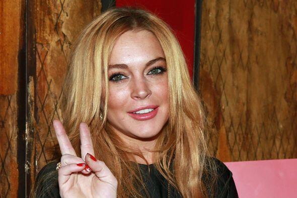 Como una bomba cayó la lista de presuntos amantes que reveló Lindsay Lohan.