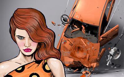 Cuando los carros son víctimas de venganza