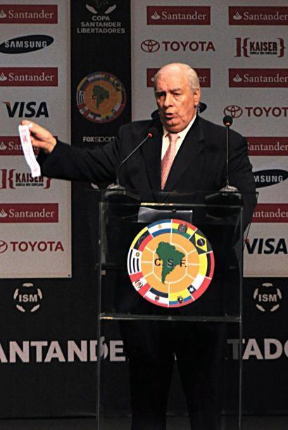 Se realizó el Sorteo de la Copa Libertadores.