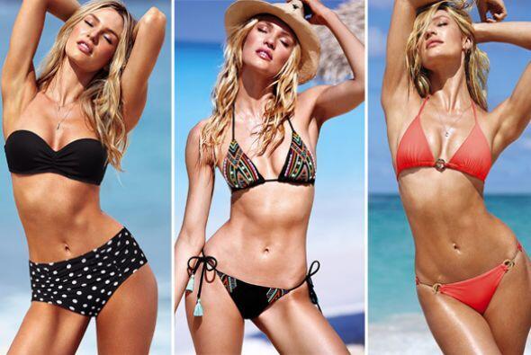 Victoria's Secret además de unos hermosos bañadores nos regaló un ardien...