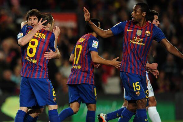 El Barcelona volvió a ser el de siempre. Ganó , gustó y goleó. Le ganó a...