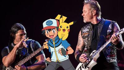 Mira a Metallica cantar el tema de Pokémon