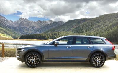 Volvo presenta a su nueva V90 Cross Country, la 'station wagon' con alma...