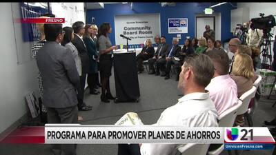 PROGRAMA PARA PROMOVER PLANES DE AHORROS