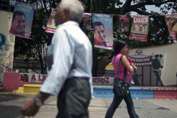El mandatario venezolano sufrió en 2007 su primera derrota en las urnas...
