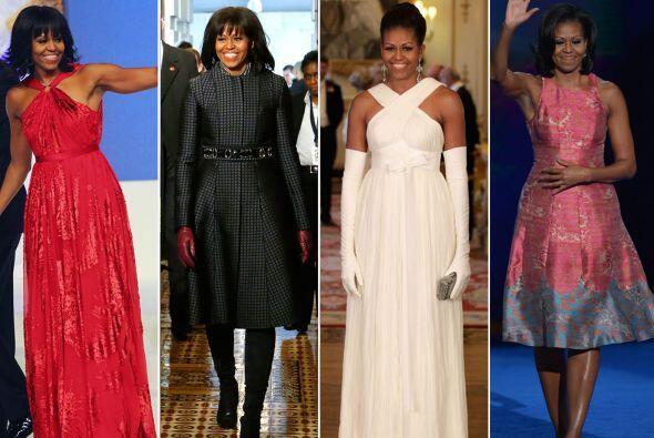 La primera dama de Estados Unidos ha cautivado al mundo de la moda con s...