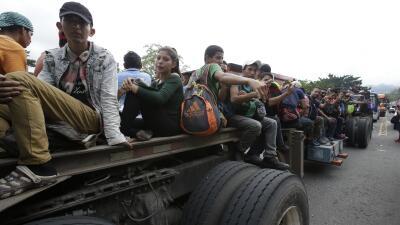 Diario de la nueva caravana: Pompeo viaja a México mientras los migrantes avanzan hacia EEUU