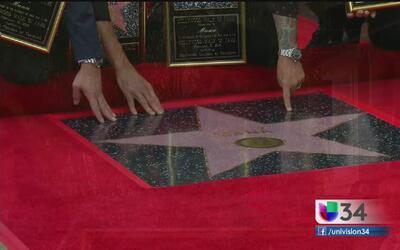 Maná recibió una estrella en el paseo de la fama de Hollywood