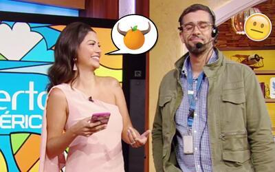 ¿Por qué las naranjas no tienen cuernos? Ana Patricia llegó estrenando c...