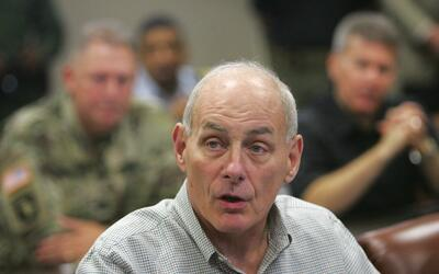 Secretario de Seguridad Nacional, general John Kelly