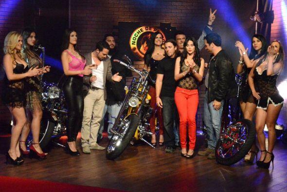 Comenzando con los deportes, unos expertos en motocicletas visitaron Noc...