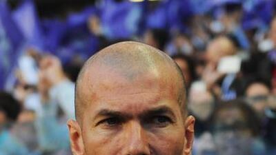 La suerte no acompañó a Zidane en su primer partido oficial al frente de...