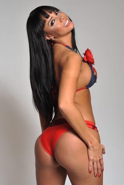 Una diosa de la belleza latina en la República Deportiva.