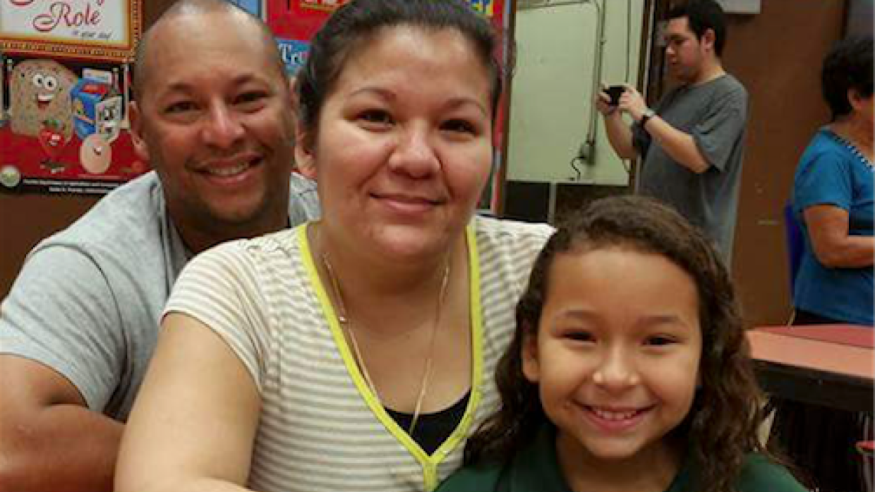 Bertha Sanles, a Nicaraguan immigrant, has two daughters: an 11-year-old...