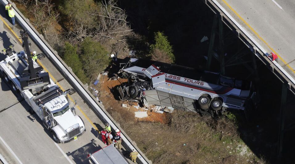 Accidente Bus Alabama