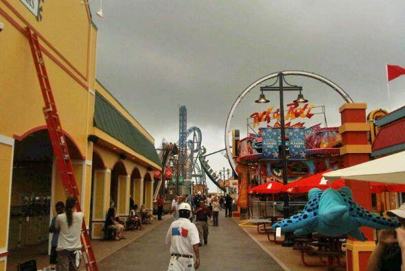MAYO  Desde mayo, Galveston cuenta con un nuevo parque de entretenimient...