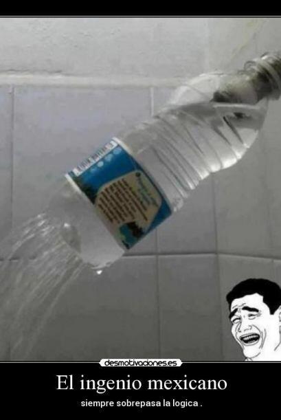 Ya no tenemos que arreglar la ducha! Funciona perfectamente!  Foto Crédi...