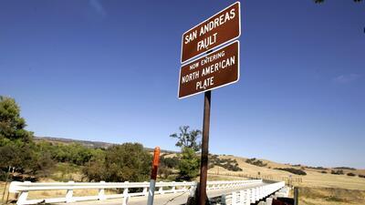 Peligro bajo tierra, sistema de fallas geológicas en el sur de California