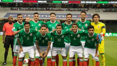 México se prepara para la Copa del Mundo de Rusia 2018