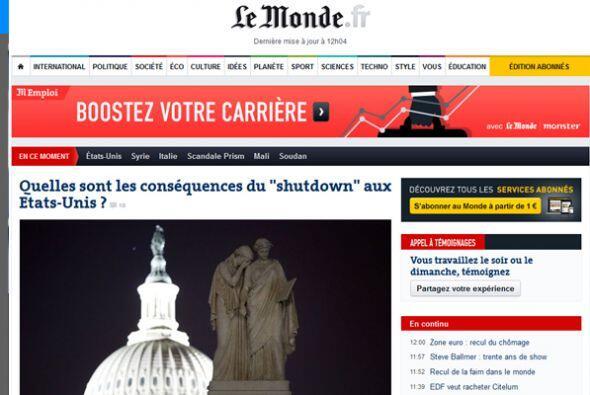 En tanto, en Francia, el diario Le Monde, se pregunta ¿Cuáles son las co...