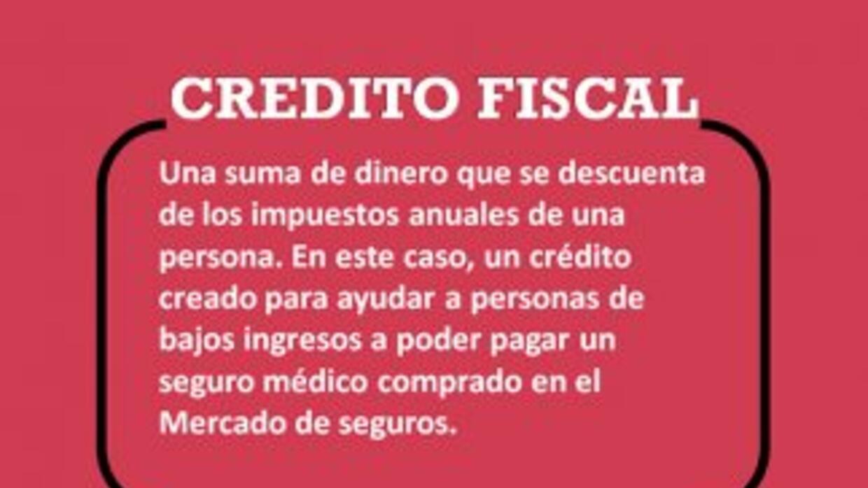 Glosario - Ley de salud - Crédito Fiscal