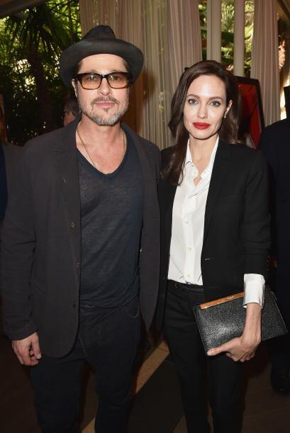 Brad y Angelina, Oprah, McConaughey, Spielberg, Anne Hathaway... decenas...