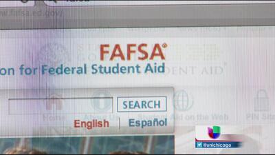 Orientación para llenar formas FAFSA